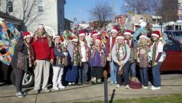 belleville-santa-parade